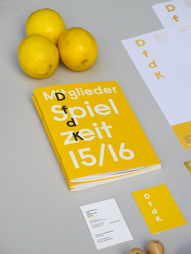 DfdK - Visitenkarten,  Broschüre